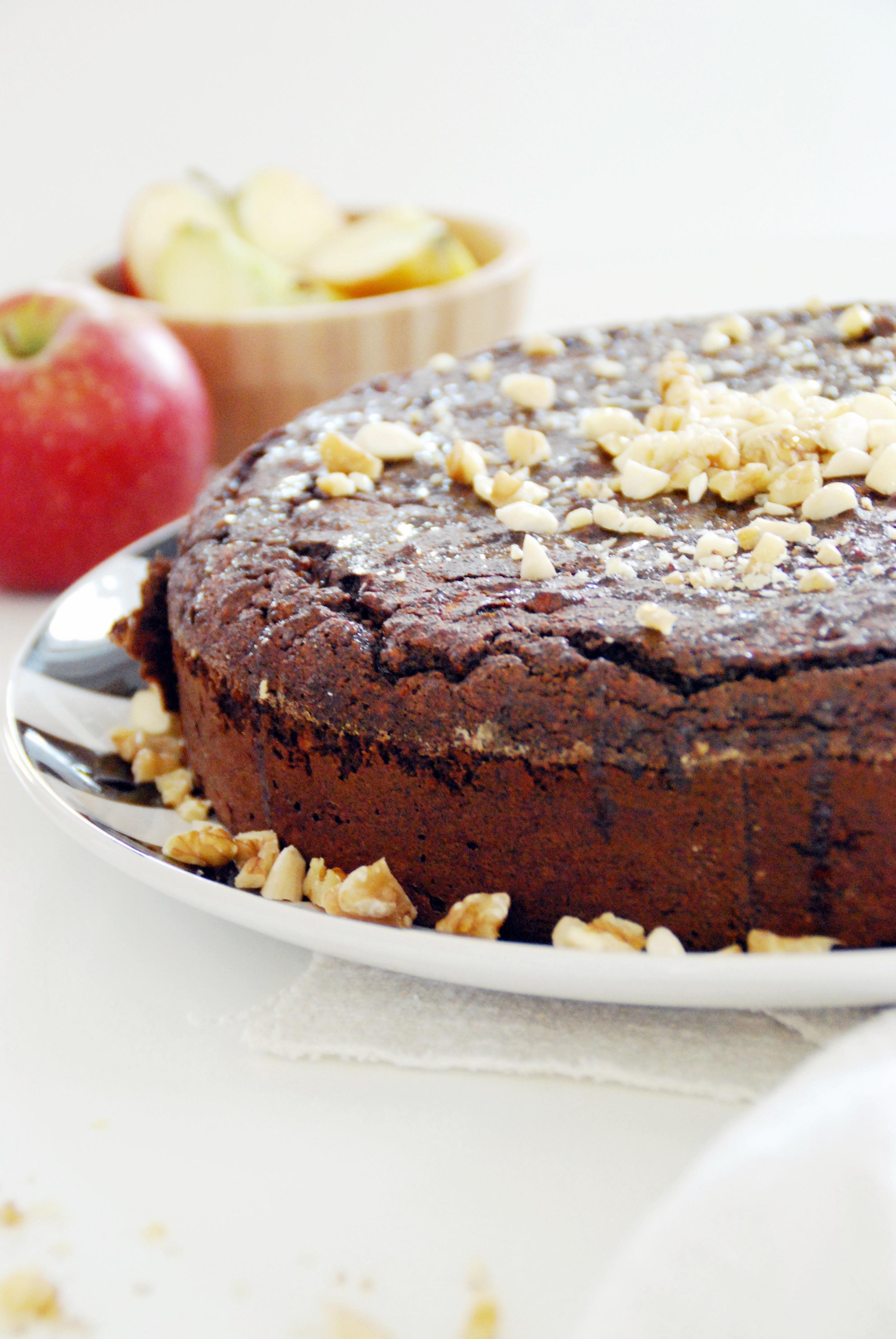 Apfel Mohn Torte
