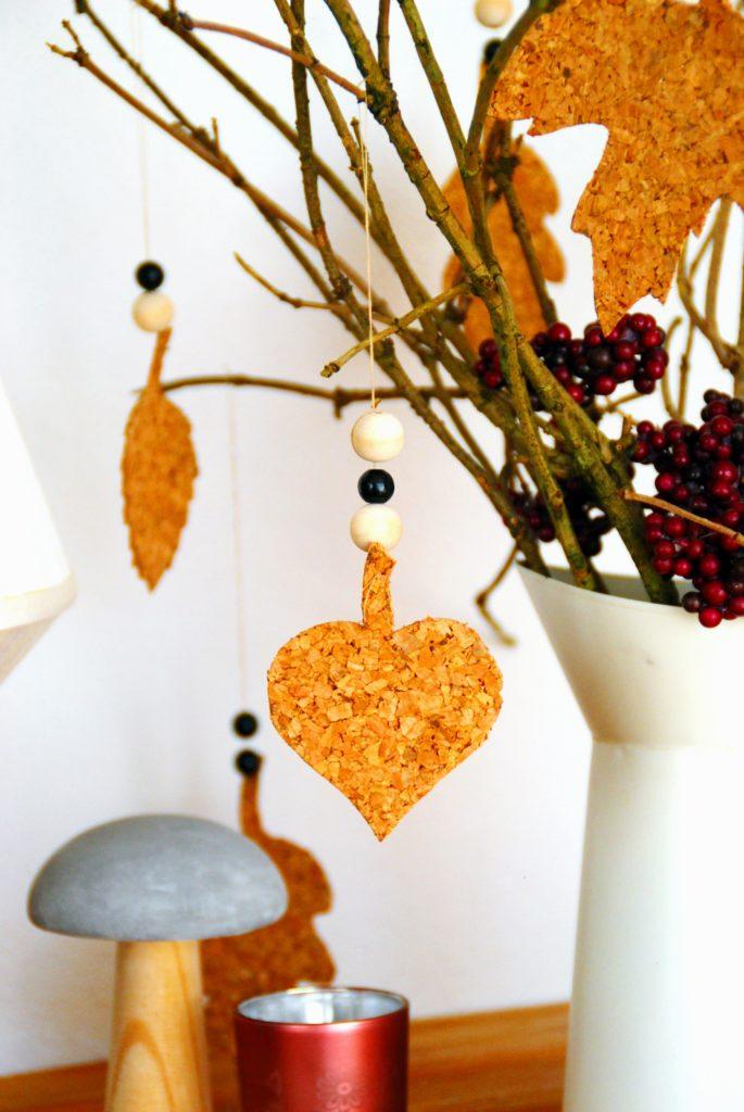 Blätter aus Kork