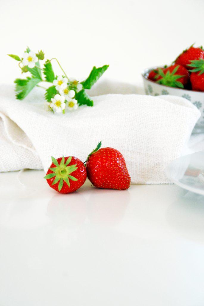 Erdbeer Vanille Schnitten