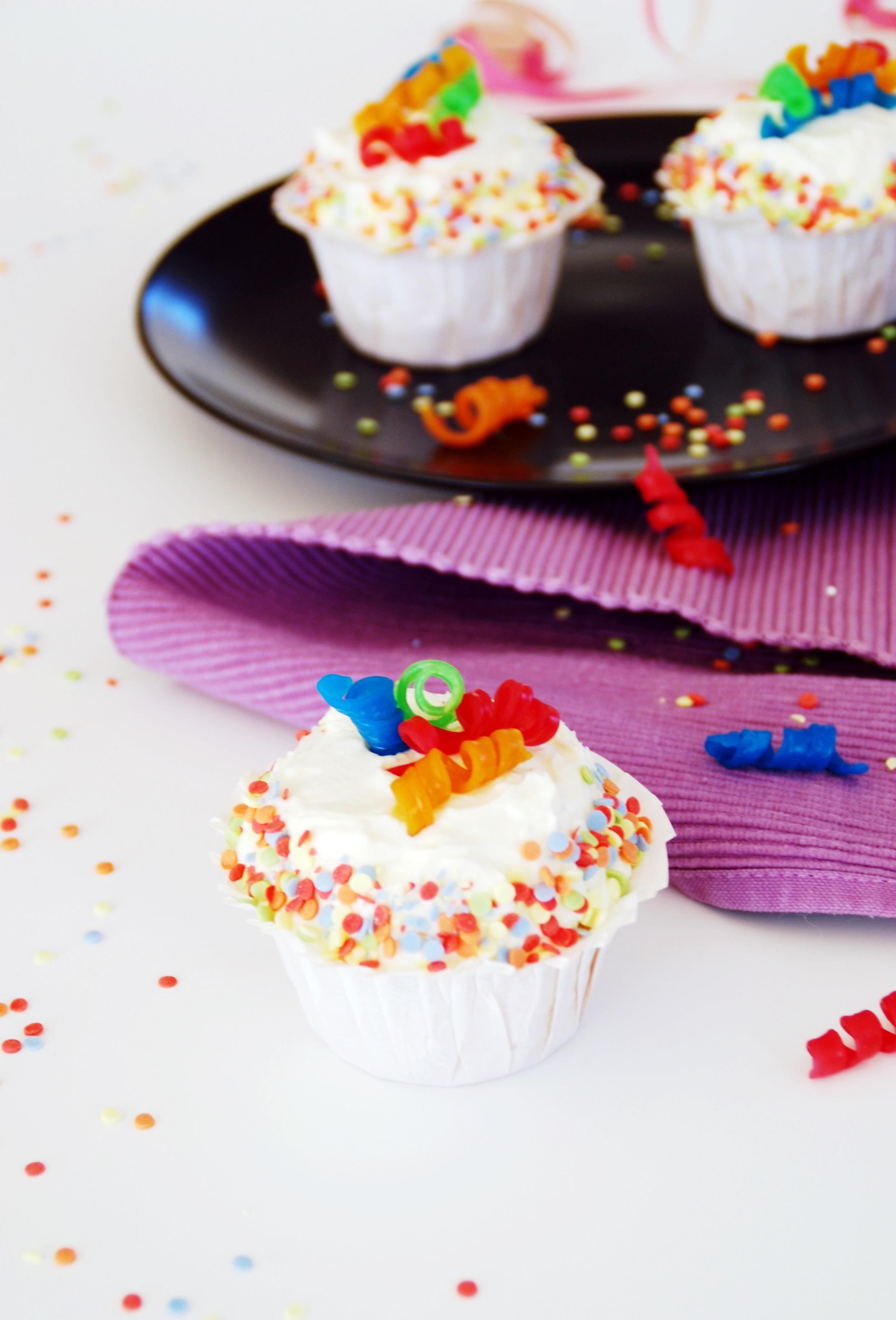 Kunterbunte Cupcakes