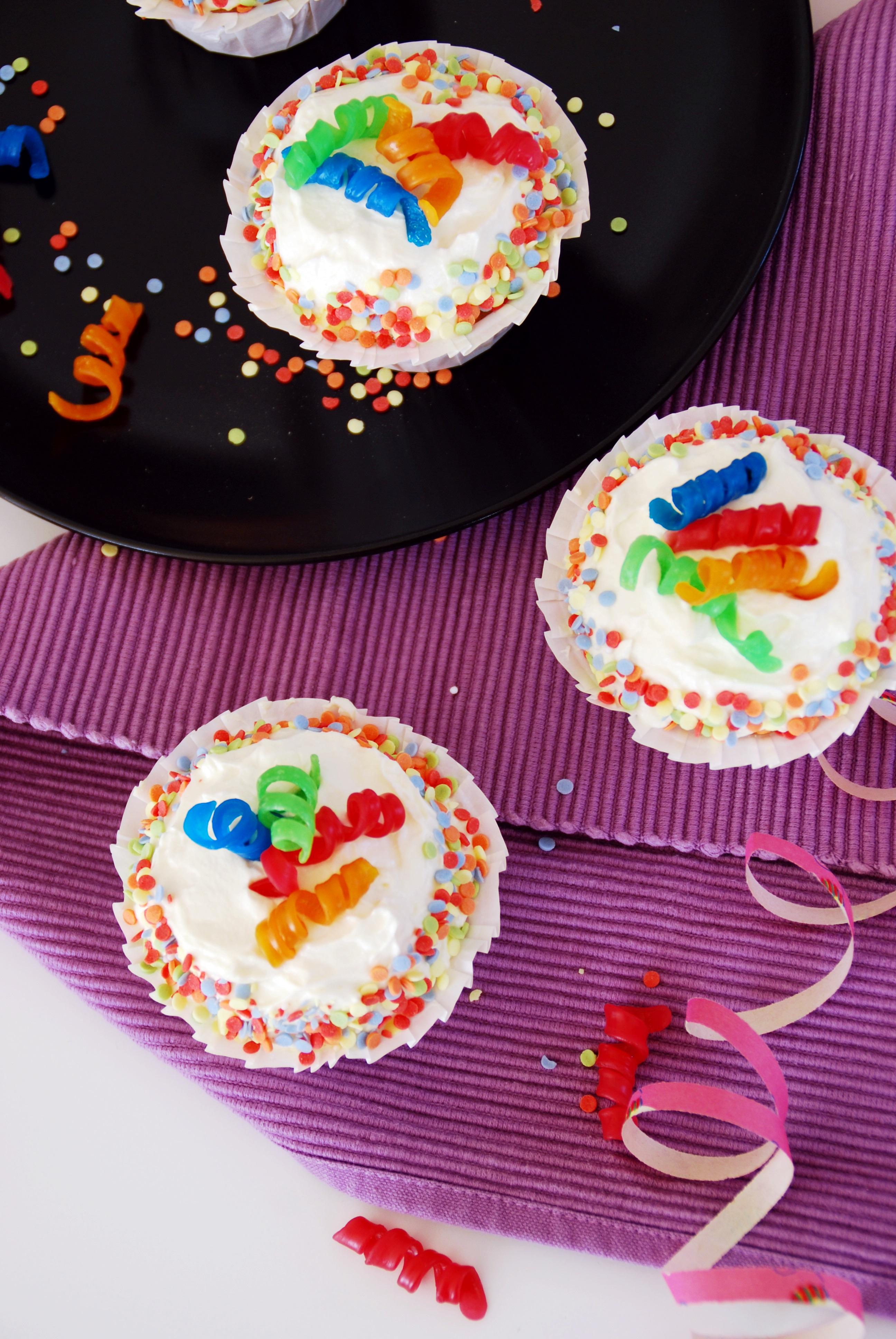 Fasching Cupcakes