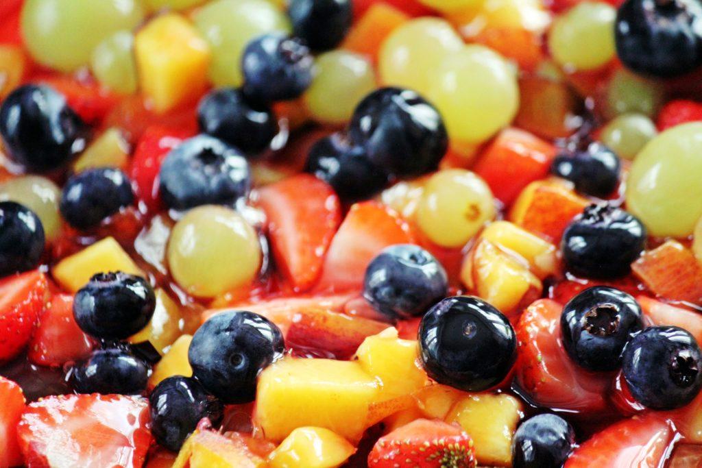 Topfen Früchte Kuchen