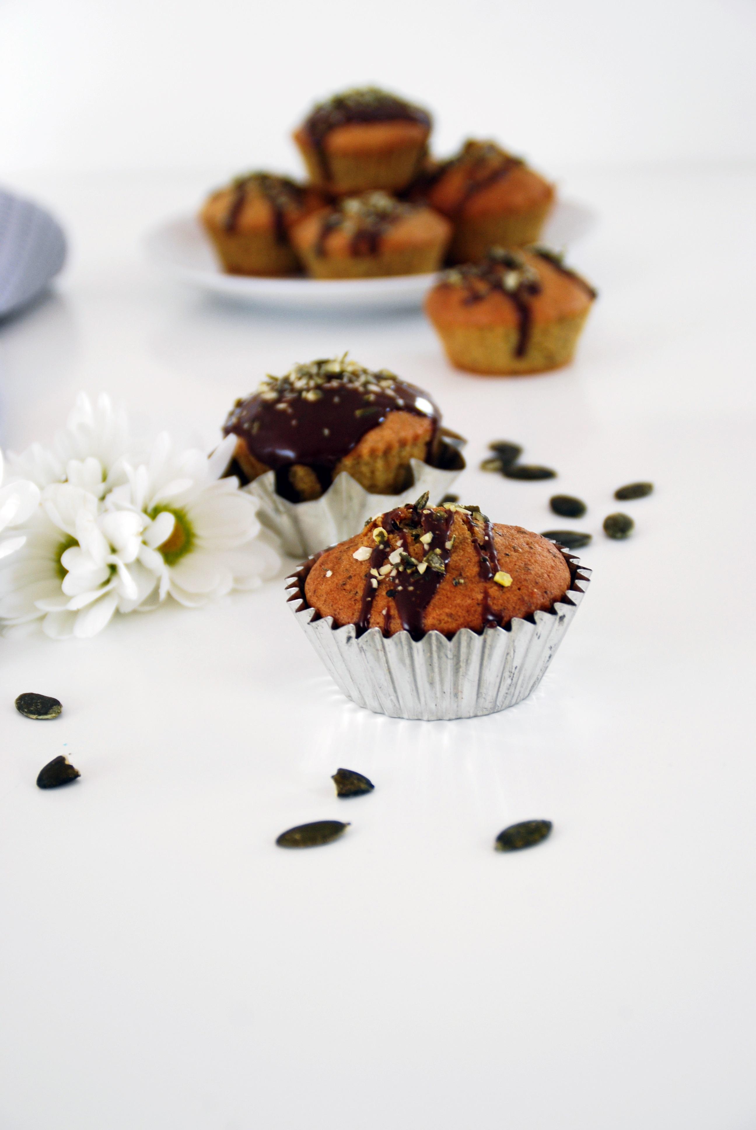 Kürbiskernöl Muffins