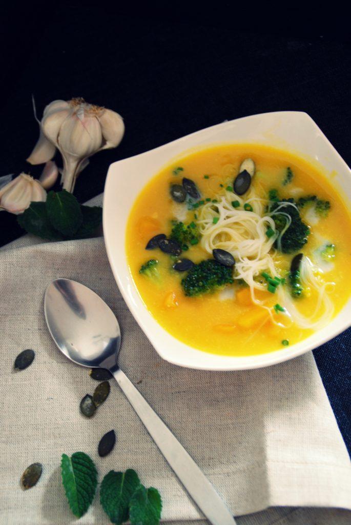 Kürbissuppe asiatischer Art