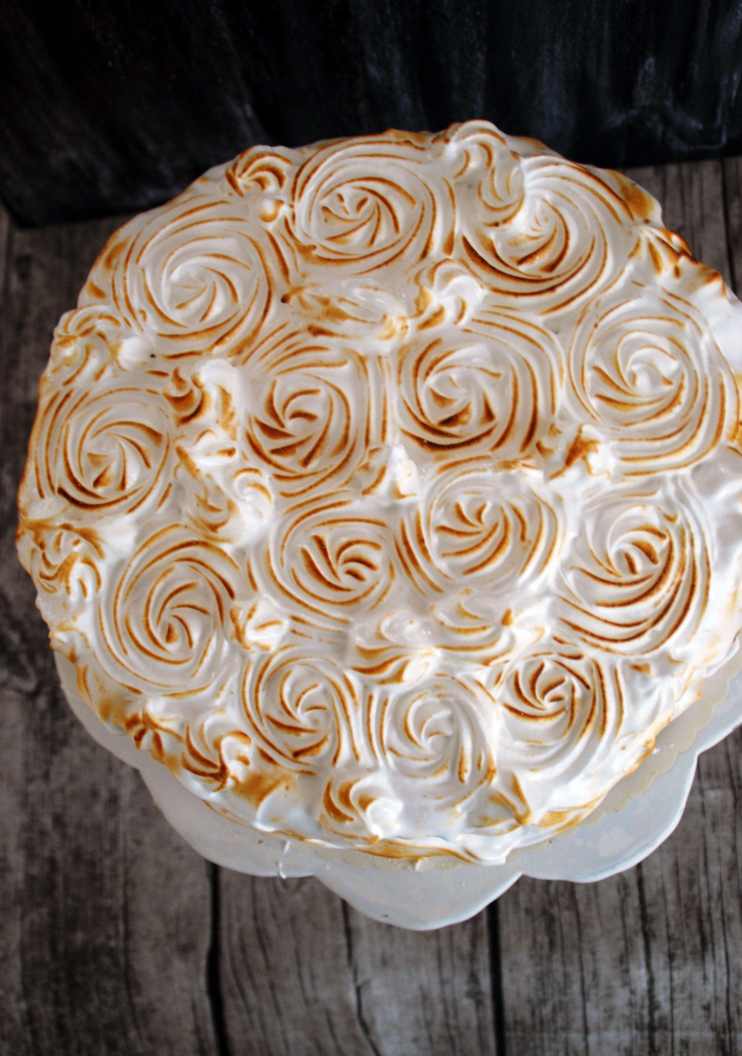 Marshmallow Fluff Torte