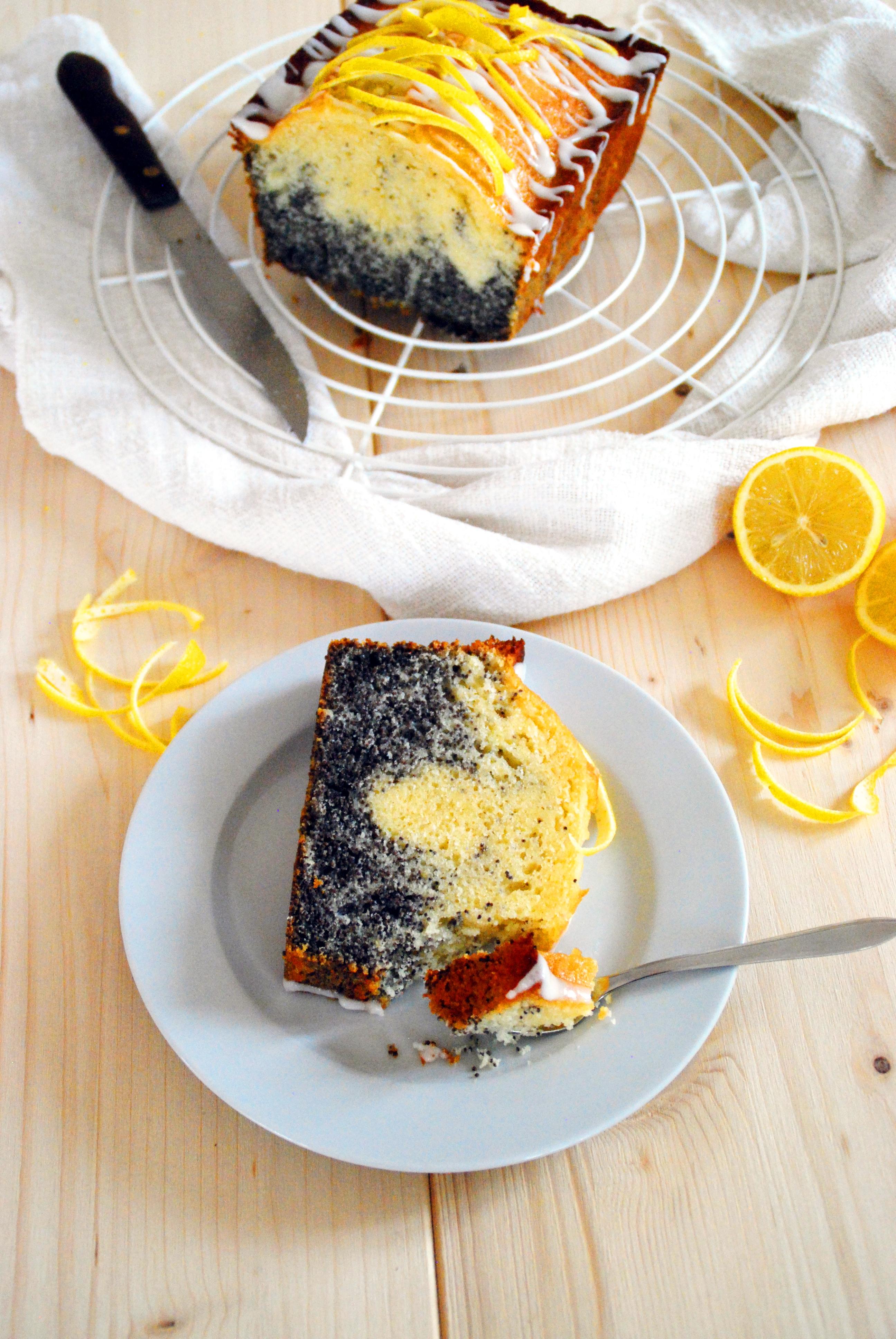 Mohn Zitronenkuchen