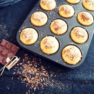 Muffins mit Nutellakern