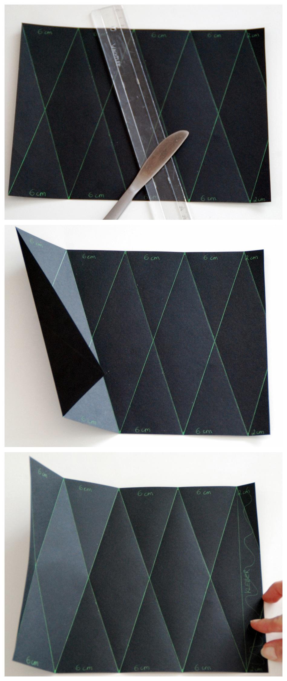 Origami Vase Anleitung