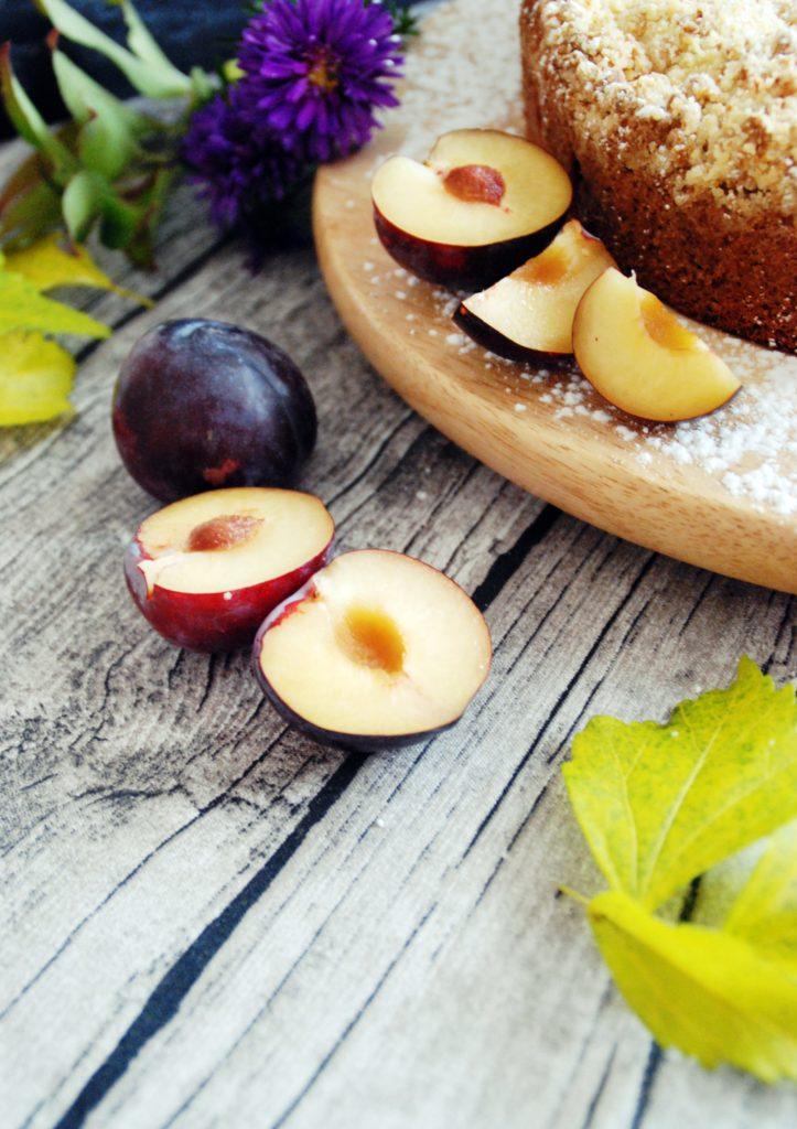Pflaumenkuchen mit Marzipan-Zimt Streusel3