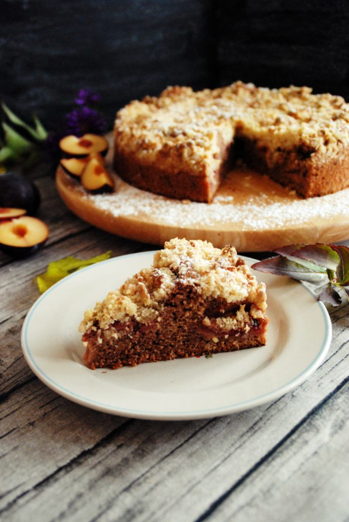Pflaumenkuchen mit Marzipan-Zimt Streusel7