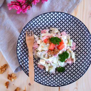 Sellerie Melonen Salat