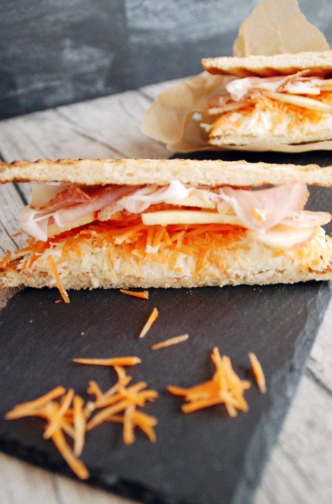 Sellerie Schinken Sandwich