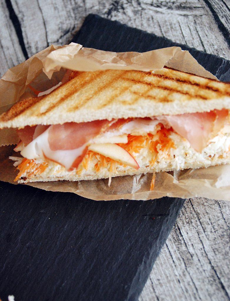 Sellerie Schinken Toast