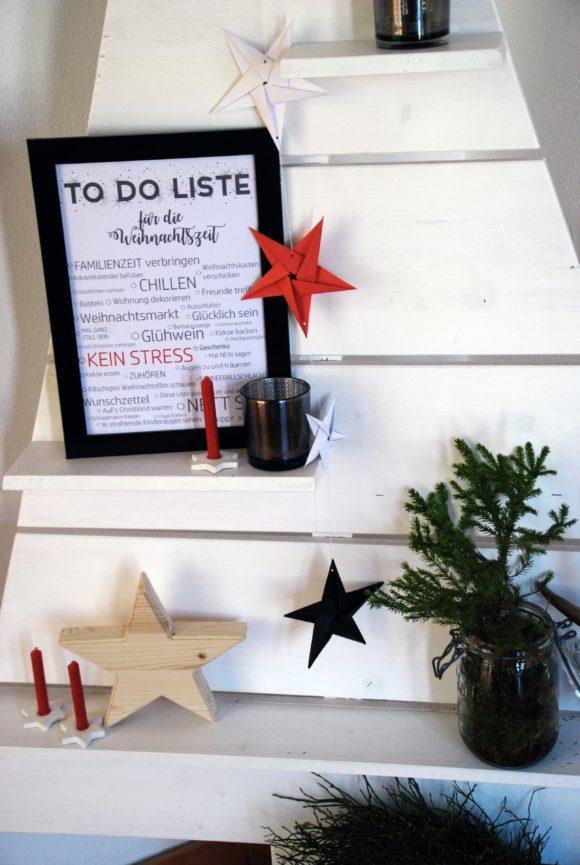 [Free Printable] To Do Liste Weihnachtszeit