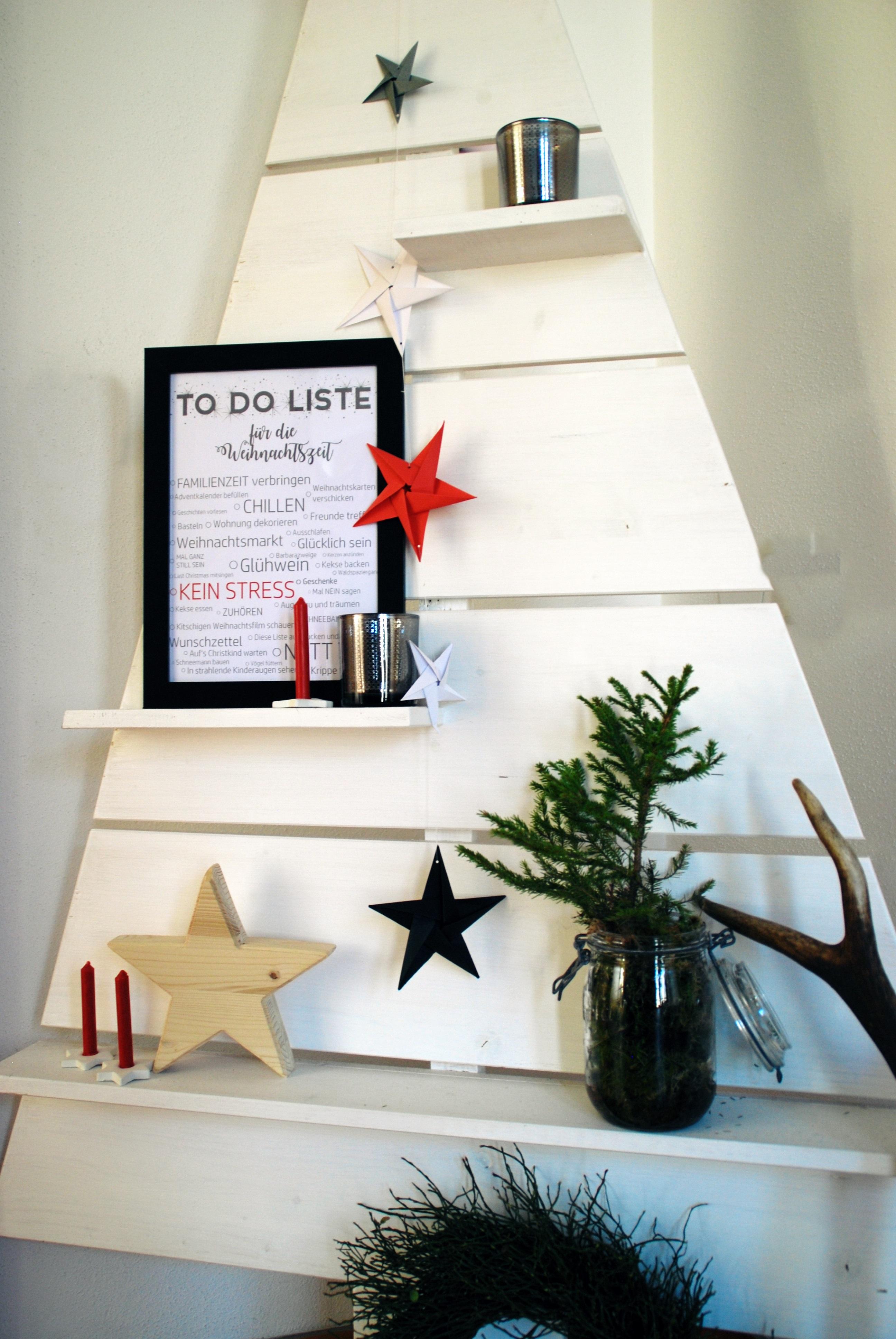 To-Do Liste Weihnachstszeit