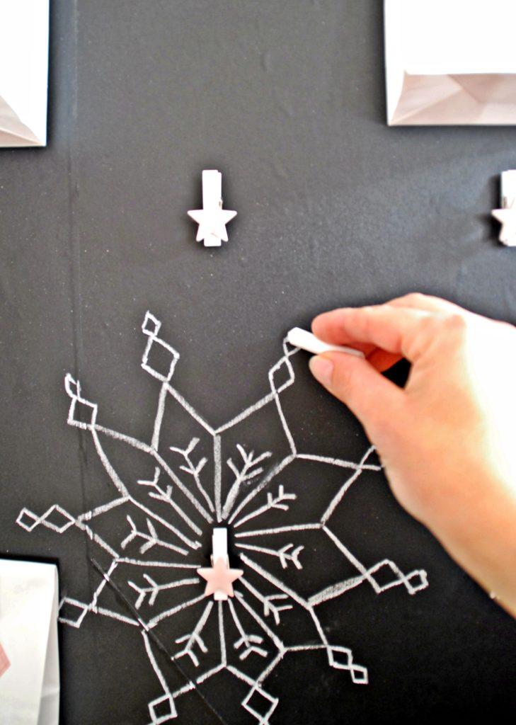 chalkboard adentskalender