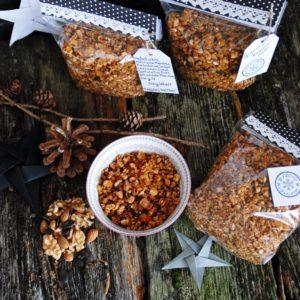Selbstgemachtes Knuspermüsli – Granola