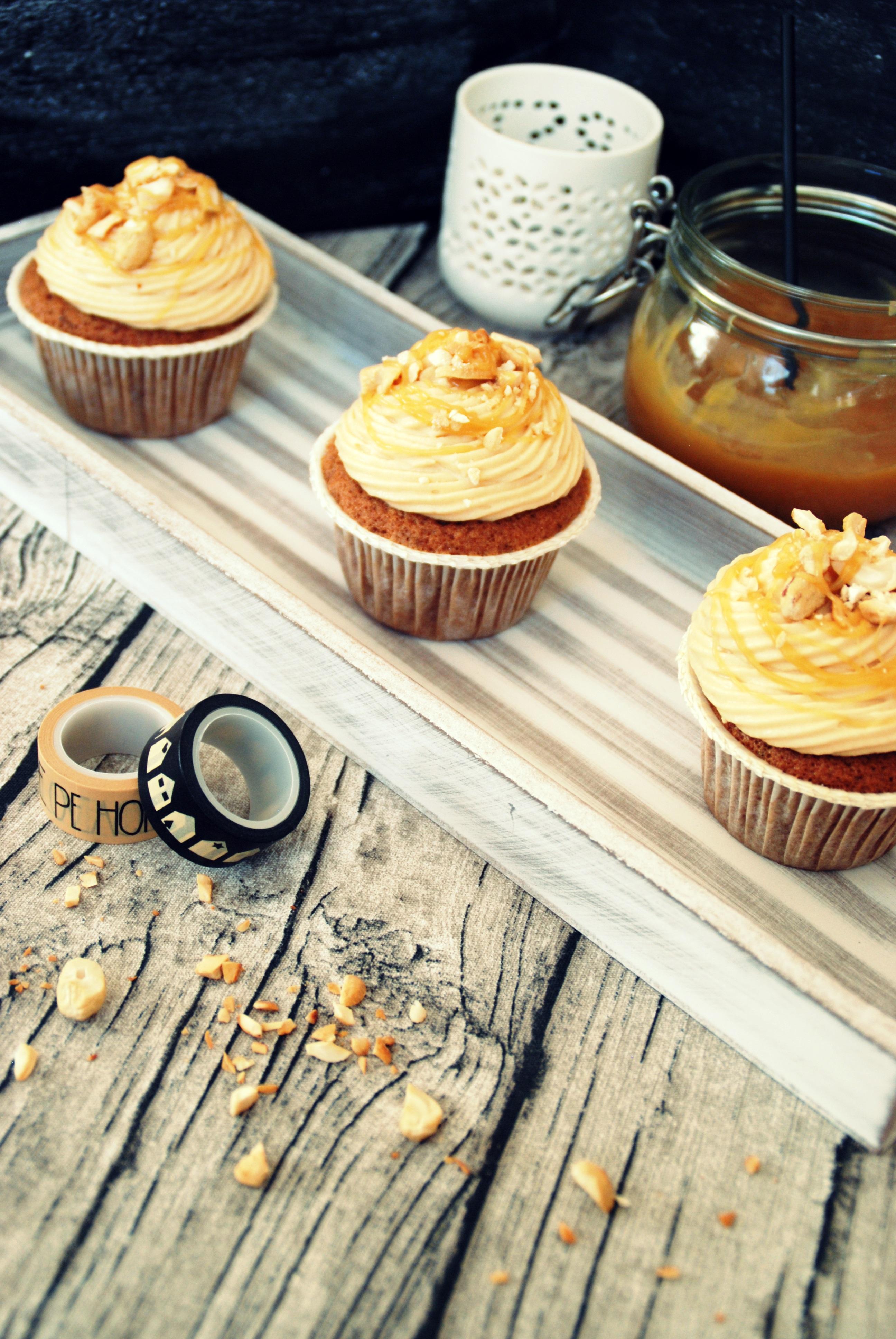 Karamell Cupcakes