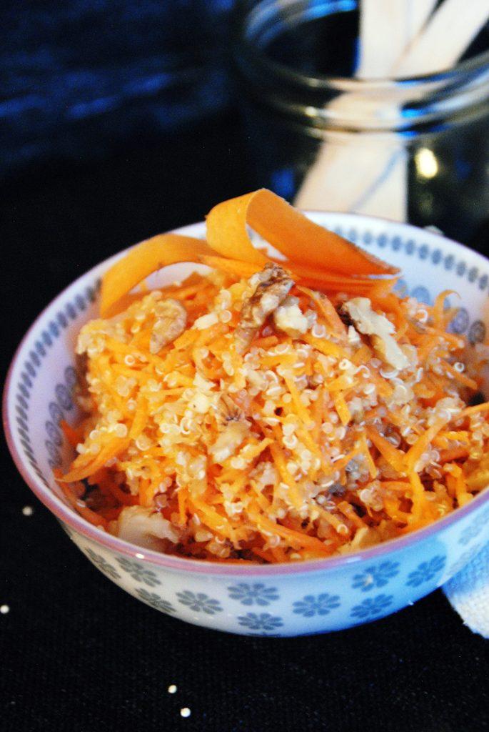 Quinoa Karotten Salat